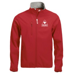 FR304 SOFTSHELL FRATRES ROSSO